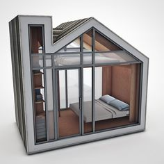 The bunkie - small space architecture by evan bare + nathan buhler -  To connect with us, and our community of people from Australia and around the world, learning how to live large in small places, visit us at www.Facebook.com/TinyHousesAustralia