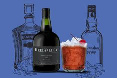 Easy-to-prepare cocktail recipes made using ReedValley's Vinho Cabo Rubi (Cape Ruby Port). Cocktail Recipes, Cocktails, Wines, Bottle, Food, Craft Cocktails, Flask, Essen, Cocktail