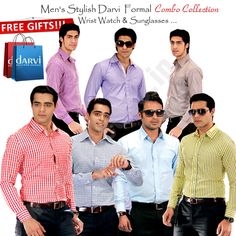 Buy Darvi Chairman Combo Collection Online, Darvi Chairman Formal Shirts & Trousers Combo, Unstitched Men's Shirt & Trousers Combo, Mens Clothing Online,Home Shopping Channel,India  Call Us Now 093-12-100-300