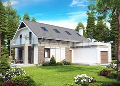 Проект дома Z-168 из пенобетона – цены строительства в Москве | Технологии Домостроения