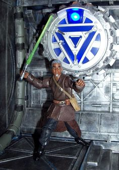 Star Wars Clone Wars Elder Jedi Master Ronis Eisley custom figure #StarWars