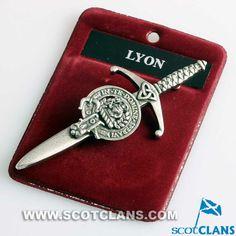 Lyon Clan Crest Kilt