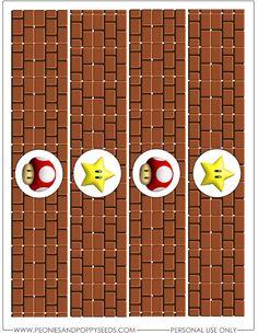 Super Mario Party, Super Mario Bros, Bolo Super Mario, Super Mario Birthday, Mario Birthday Party, Super Mario Brothers, Mario Kart, Mario E Luigi, Hama Beads Minecraft