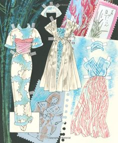 Fashion Originals by Jim Howard High Style Paper Dolls Japan and Africa: Jim Howard, Paper Dolls, Jenny Taliadoros: 9781942490180: Amazon.com: Books