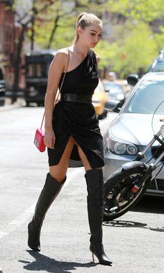 Gigi Hadid: Heading to a Photoshoot, April 2015