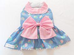 Vestido Maria Delicada para Cachorro - Dress for Dog! www.modalegalpracachorro.com.br