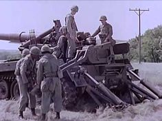 175mm Gun M107, Self Propelled - United States Army Field Artillery Weapons - CharlieDeanArchives - YouTube