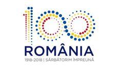 Centenary of Romania Branding Design, Logo Design, Graphic Design, D Mark, Anniversary Logo, My Heritage, World War I, Mythical Creatures, Folklore