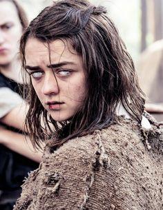 "iheartgot: """" Arya Stark dans S06E01, ""The Red Woman"" (x) """"                                                                                                                                                      More"
