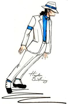 """Michael Jackson: The Legendary King of Pop"" Illustrator Fashion Designer ~Hayden Williams~ [June25 2011]"