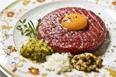 beef tatar www.danielmisko.pl