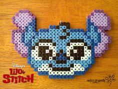 Diseny Stitch perler beads by RockerDragonfly on deviantart