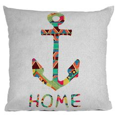 "Bianca Green You Make Me Home 26"" x 26"" Throw Pillow"