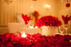 Romantic Picture With Rose Flowers