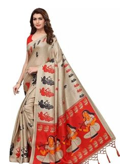 Printed Khadi Silk Saree With Blouse Piece link in bio Price: ₹499 Feel free to call us on +91-7999219541 if you need any help with ordering online. Thank you. #onlineshopping #ethicalfashion #indigodye #madeinindia #love #linenclothing Latest Sarees Online, Latest Silk Sarees, Silk Sarees Online, Chiffon Saree, Cotton Saree, Cotton Silk, Stylish Sarees, Bollywood Saree, Pink Saree