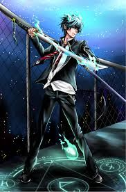 the blue exorcist art - Google Search
