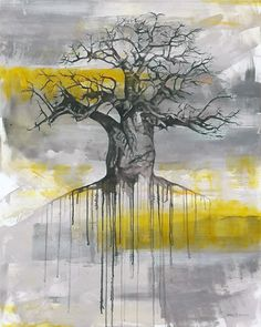 """""""Route to Roots"""" painting – Anelle Steyn"""