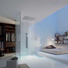 hansgrohe axor starck shower heaven  Dream bathroom, #bathroomdreams  @Hansgrohe USA