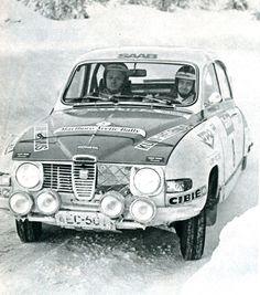 Tapio Rainio / Erkki Nyman (Saab 96 V4) vainqueur de l'Artic Rallye 1976 - L'Automobile mars 1976.