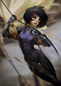 Search 'Alita' on DeviantArt - Discover The Largest Online Art Gallery and Community Movie Characters, Female Characters, Manga Art, Anime Art, Anime Chibi, Alita Movie, Alita Battle Angel Manga, Super Movie, 70s Sci Fi Art