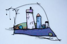 WOW - Amazing stained glass artist - I am so inspired looking at these!