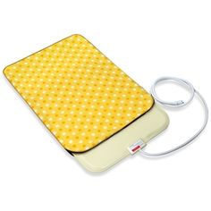 Fluffy Paws Yellow Dot Medium Indoor Pet Bed Warmer Electric Heated Pad with Free Pad Cover (Dual Temperature & UL Certified) | Overstock.com Shopping - The Best Deals on Heated Pet Beds