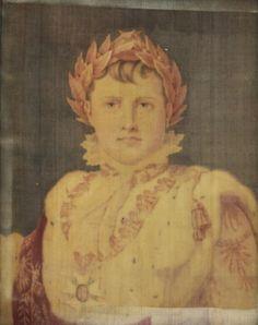 Gaspard Grégoire (Aix-en-Provence, 20 octobre 1751 - Paris, 12 mai 1846) (fabricant), Portrait de Napoléon Ier en costume de sacre, Paris, vers 1804-1815. MT 23189. Achat Moussy, 1878. © Musée des Tissus, Sylvain Pretto
