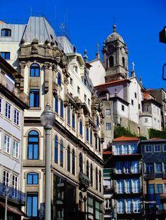 O velho casario do Porto