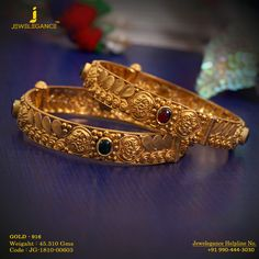 Gold 916 Premium Design Get in touch Gold Bangles Design, Gold Earrings Designs, Gold Jewellery Design, Gold Designs, Designer Bangles, Gold Jewelry For Sale, Clean Gold Jewelry, Jewellery Earrings, Beaded Jewelry