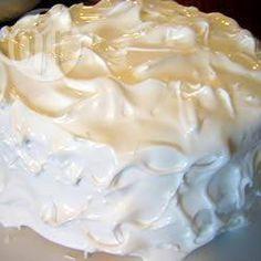 Фото рецепта: Глазурь из яичных белков (Заварная меренга)