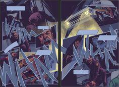 Wrapped up pages 5 & 6 last night on stream. On to the next two!  #schmandrewart #illustration #illustratorsoninstagram #comicart #digitalart #digitalpainting #comics #comicbookartist