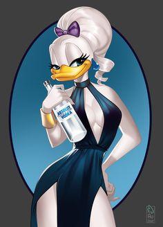 artwork with Daisy Duck to be used as logotype Disney Cartoon Characters, Disney Cartoons, Disney Duck, Disney Love, Minnie Mouse Cartoons, Duck Tattoos, Duck Logo, Donald And Daisy Duck, Duck Art