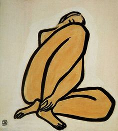 "Chinese artist Sanyu 常玉 (or Chang Yu) (1901–1966) who has been regarded as ""the Chinese Matisse"" was among the first Chinese artists to study in Paris in the early 1920s. He died in 1966 in his studio in Paris."