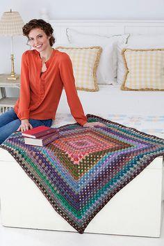 Granny's treasure blanket (pattern) by Kathleen Sams
