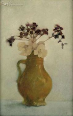 Pieter Knorr Neutral Palette, French Decor, Types Of Art, Beautiful Paintings, Flower Art, Painting & Drawing, Still Life, Contemporary Art, Art Gallery