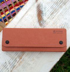Pulp Storage Pen / Pencil Case by Midori - Tan