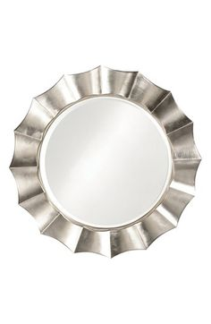 Howard Elliott Collection 'Corona' Round Mirror available at #Nordstrom