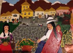 Ecuadorean painted by Lorial1984 Art