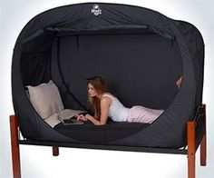 bed tent, my kids would love this