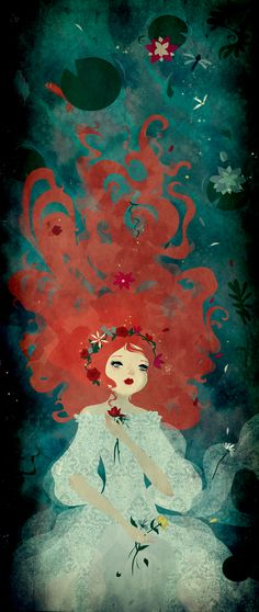 Ophelia by mairimart.deviantart.com on @deviantART