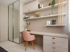 Room Design Bedroom, Girl Bedroom Designs, Home Room Design, Small Room Bedroom, Home Office Design, Home Office Decor, Home Decor Bedroom, Home Interior Design, Studio Living