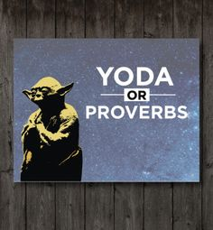 Yoda-Or-Proverbs: Youth Group Game Youth Group Lessons, Youth Group Activities, Youth Groups, Youth Group Events, Therapy Activities, Youth Ministry Games, Youth Games, Ministry Ideas, Kids Ministry