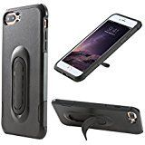 iPhone 7 Plus Case 4-in-1 Mount Case/Kickstand/Grip/Protection,UCHO [Tough Armor] Heavy Duty Extreme Protection Cover Shockproof Heavy Duty Case for iPhone 7 Plus (Black). Multi-functional: Dual Layer designed. The removable outer layer can work as a stent, which enable the phone to be placed on the desk or in your horizontal air vent or flush cd/dvd slot after simply clicking out the Clipstic. Use GPS while keeping your eyes on the road. Impact-Resistant Dual Layers: Constructed from...