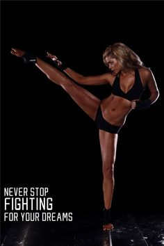 I was dead after only ten minutes of kickboxing... but now I cannot wait for next week, so I can go back and do better.