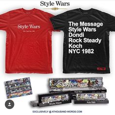 """Limited edition  NYC Graffiti collectors edition """"STYLE WARS"""" Hookup... #graffiti #stylewars #nyc #hiphop #streetart #collection"""
