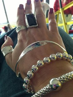 Bangles & Rings. Available for purchase at: http://www.mysilpada.com/kathleen.nicholsen
