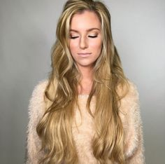 We cannot get over how stunning Alex is!  Color #622 - 20 in. www.hiddencrown.com