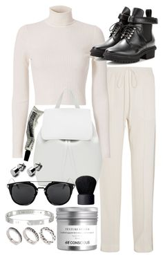 """""""Untitled #20293"""" by florencia95 ❤ liked on Polyvore featuring Chloé, A.L.C., Balenciaga, Mansur Gavriel, Cartier, ASOS, Aesop and NARS Cosmetics"""