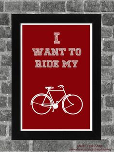 Piano By Ear Products Queen Lyrics Print I want to ride my bicycle by StephiiShop Sound Of Music, Music Tv, Good Music, Cool Lyrics, Music Lyrics, Music Is My Escape, Music Is Life, Queen Lyrics, Freddie Mercury Quotes