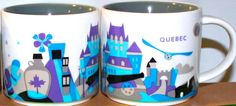 Starbucks City Mug You Are Here in Quebec